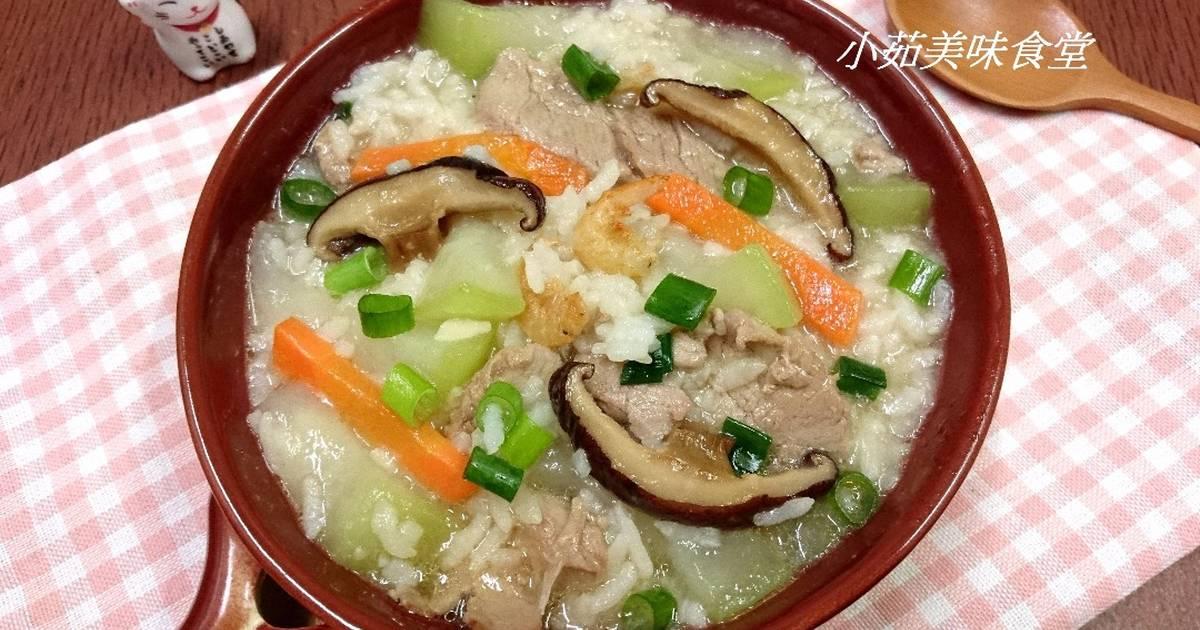 小茹美味食堂 發表的 瓠瓜鹹粥 食譜 - Cookpad