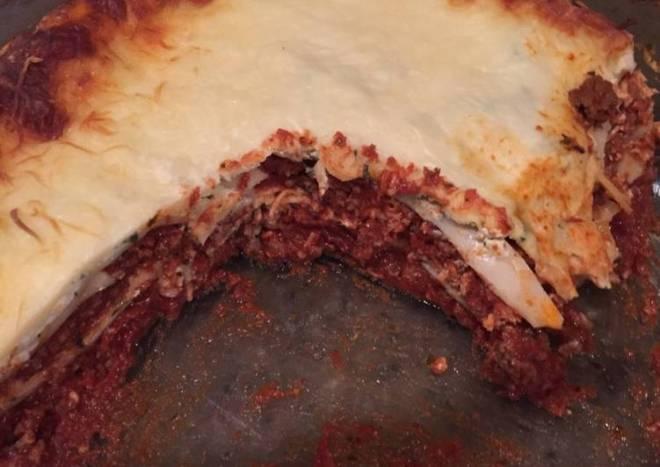 Lower sodium Lasagna