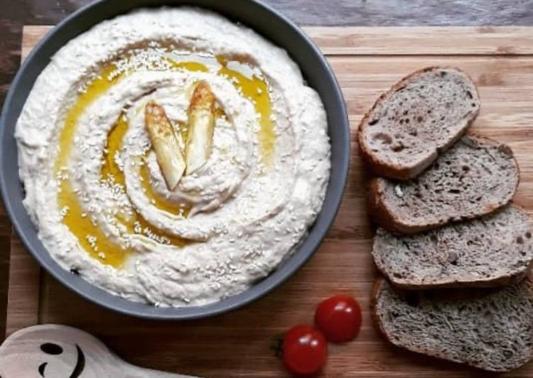 ☆Houmous d'Asperges Blanches & Tahin☆
