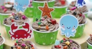 Cup Cake Coklat Ultah