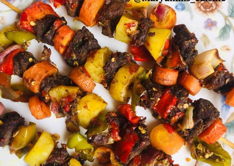 MY SPECIAL BEEF KEBAB by maryumms_cuisine