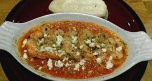 Argentine Red Shrimp With Tomatoes & Feta Cheese