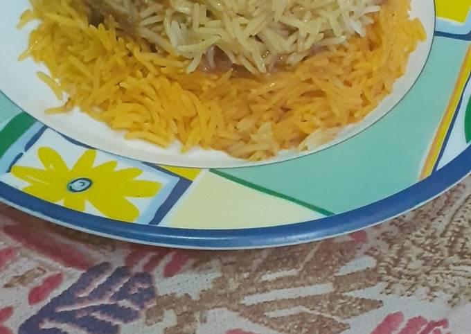 Teh wali biryani in restaurant style😋😋