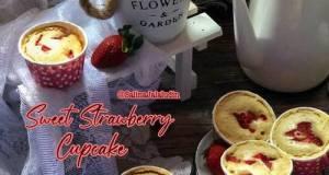 Sweet Strawberry Cupcake