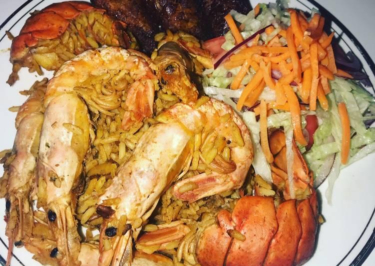 Simple Seafood Rice