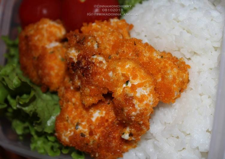 Pan-Fried Chicken Pieces with Mayonnaise
