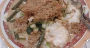 Resep Bubur Kacang Pedas / Rojak Tajin
