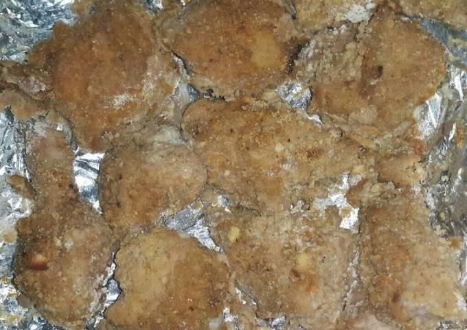 Oven Buttermilk Fried Chicken