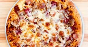Pizza saos bolognaise