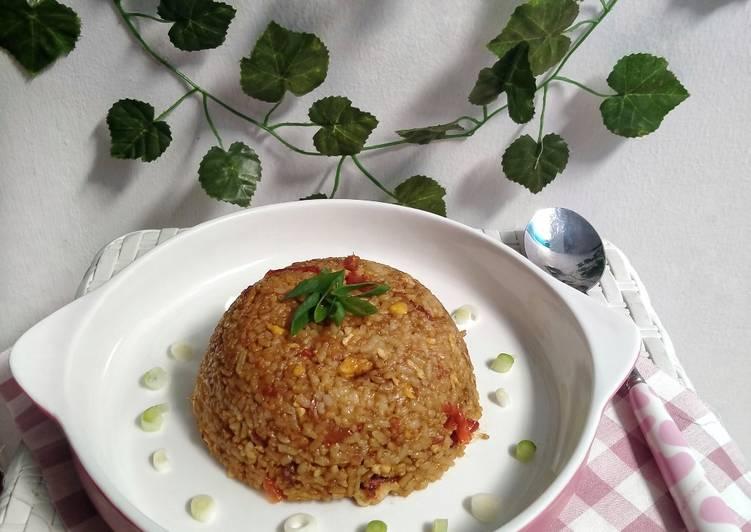 Cara Untuk Memasak Nasi Goreng Sambal Bacem Yang Lezat Sekali Masakan Bunda
