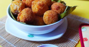 Chicken Meat Ball With Cheese