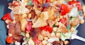 Lemon-Pepper Chickpea Fattoush