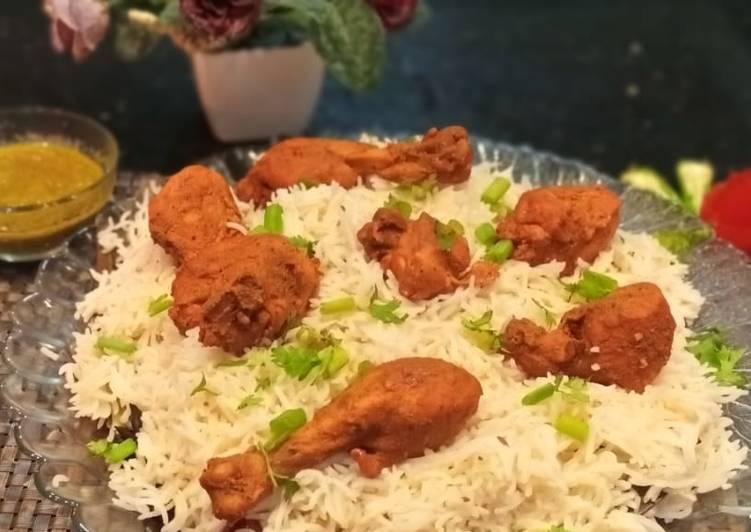 Spicy Chicken Mandi🍗