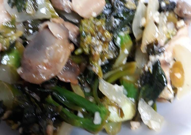 , Recipe: Yummy Gai-lon Chinese Broccoli