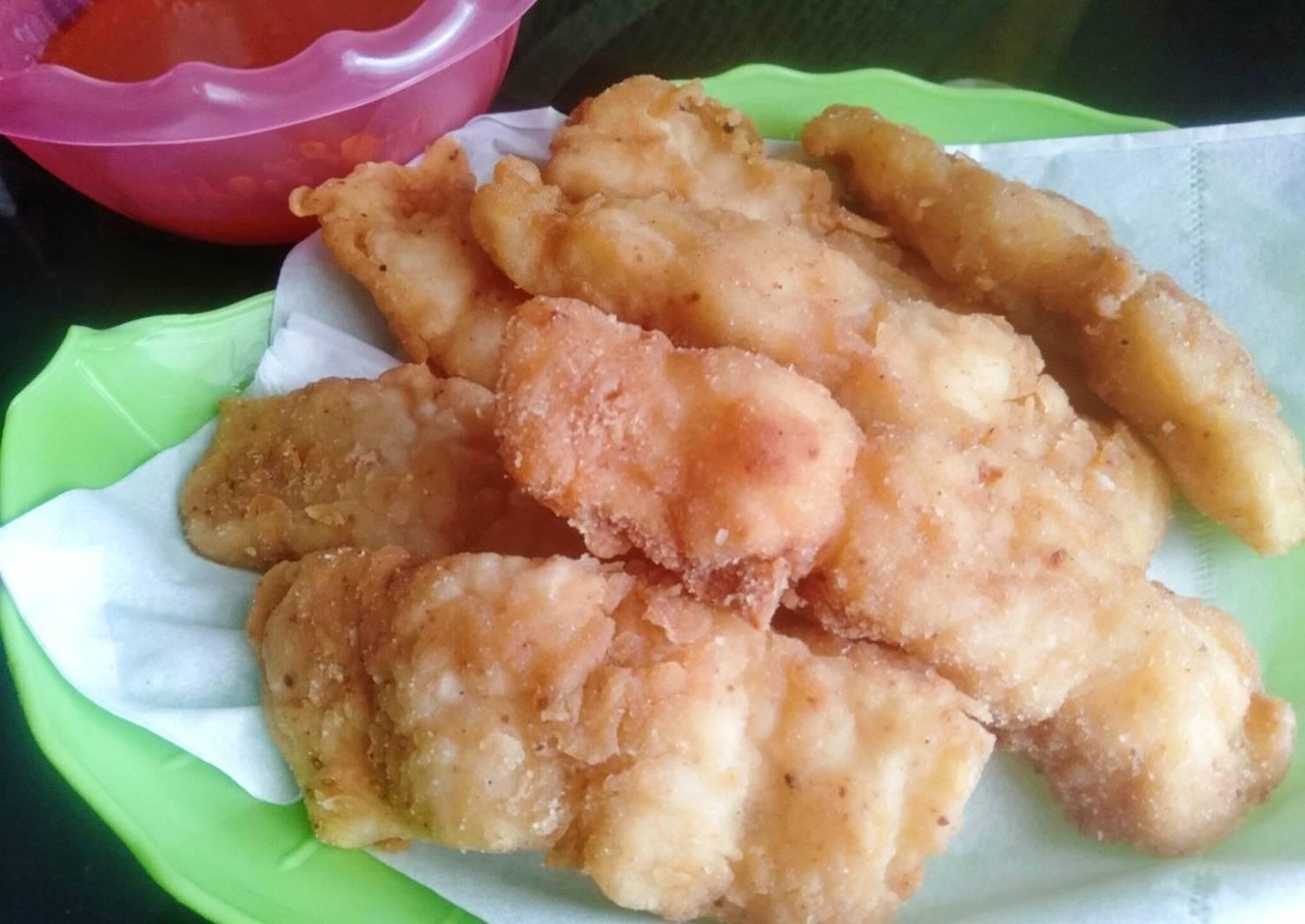 Resep Ikan Dori Crispy Saus Asam Manis Remas Nu