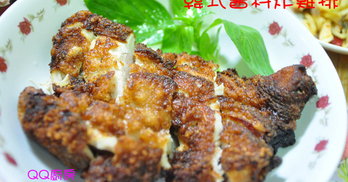 韓式醬料炸雞排食譜 by QQ廚房 - Cookpad