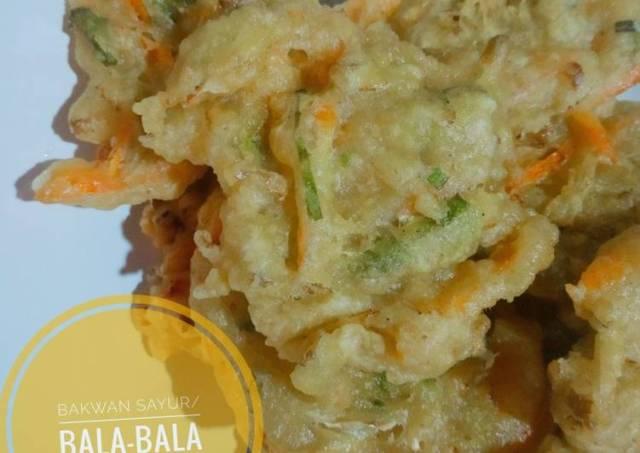 Bakwan Sayur/Bala-Bala