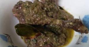 Gulai Itiak Lado Hijau Koto Gadang (gulai Bebek Cabe Hijau)