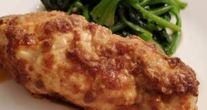 Parmesan Baked Chicken Breast