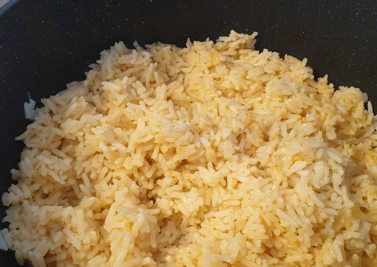 Simply Spiced White Rice