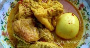 Gulai Ayam Campur