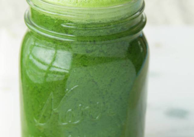 Green healthy juice