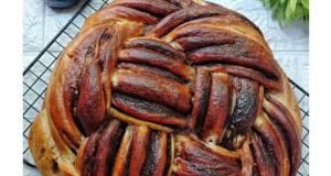 Chocholate Challah Bread