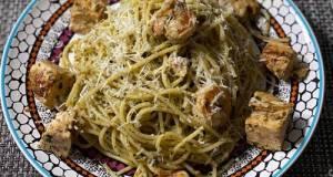 Chicken & Shrimp Pesto