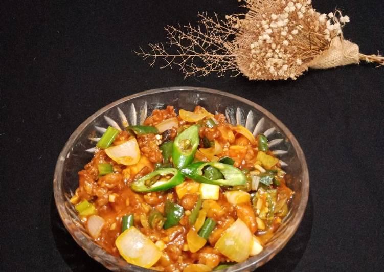 Ayam Kungpao sederhana enak