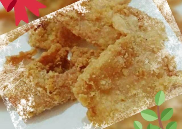 Krenyes renyah gurih kulit Ayam