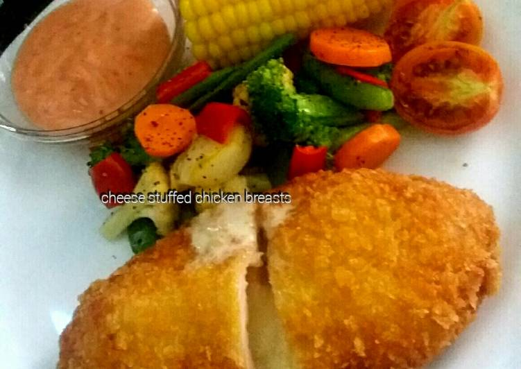 Cheese Stuffed Chicken Breasts