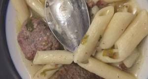 Meatballs White Soup
