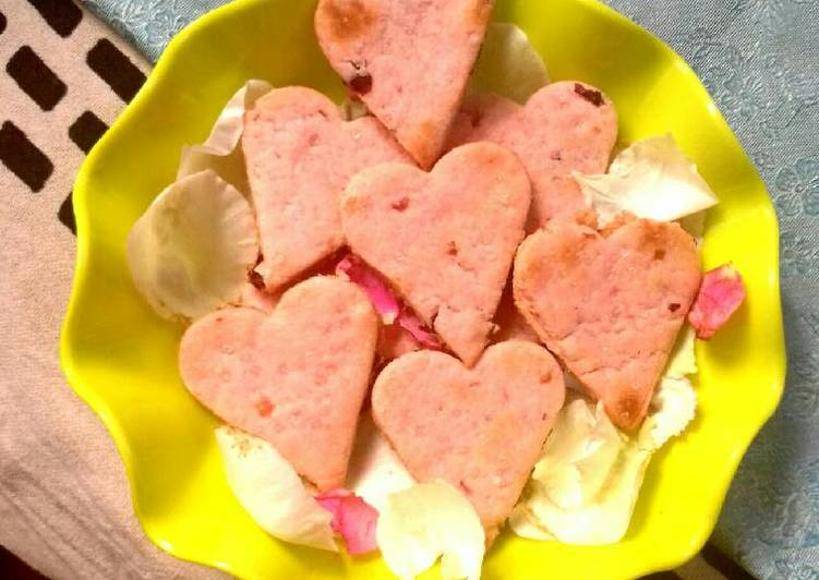 Rose cookies..valentine special