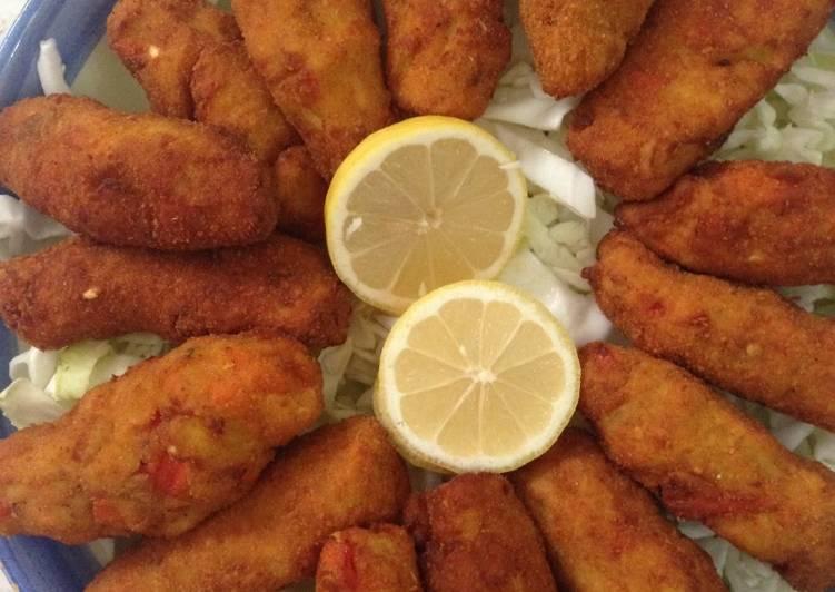 Fish left over recipe