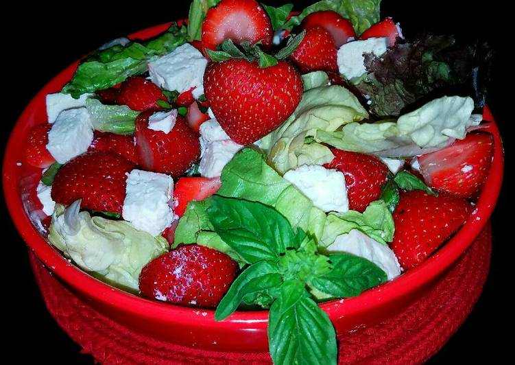 Mike's Strawberry Feta Salad