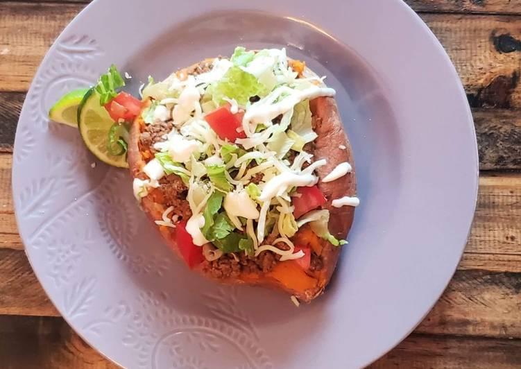 , Recipe: Tasty Taco Stuffed Potatoes