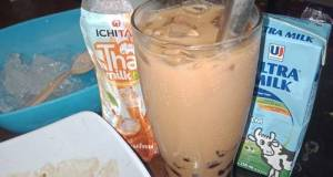 Bobba Milk Tea Simpel || Recipes By Qisti Ares D.O