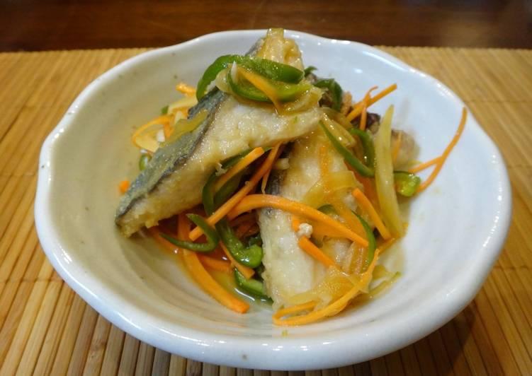 Fish Nanban Zuke (Japanese style Escabeche)