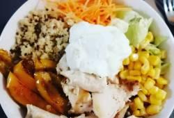 Recettes de cuisine Salade bowl quinoa poulet Délicieux