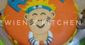 Kue Tart Tema Naruto