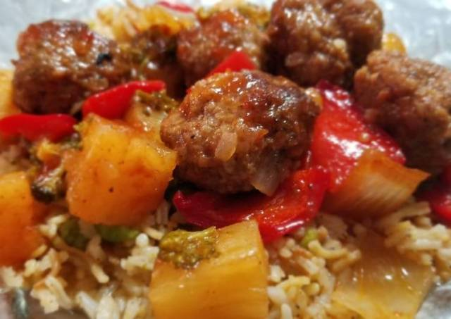 Sheik's Sweet N' Sour Meatballs