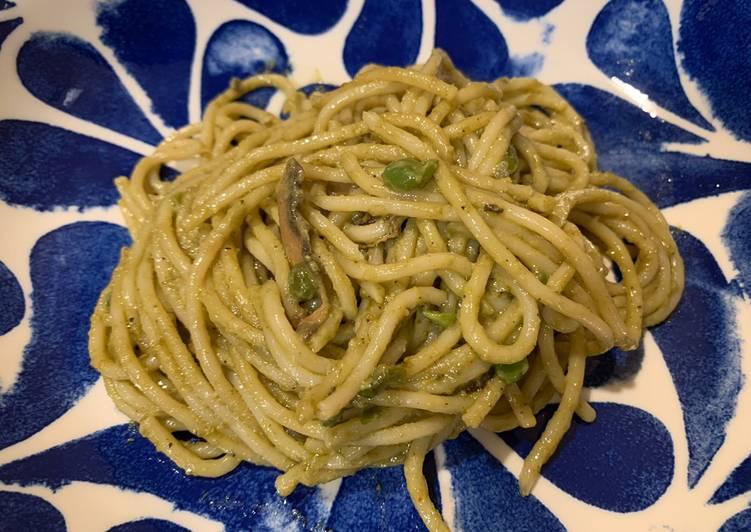 Organic Vegan Basil Pesto Pasta