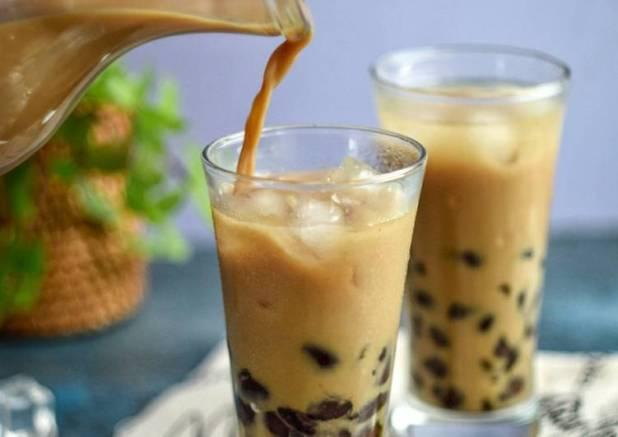 Bubble Coffee Milk (Es Bubble Homemade) #siapramadhan