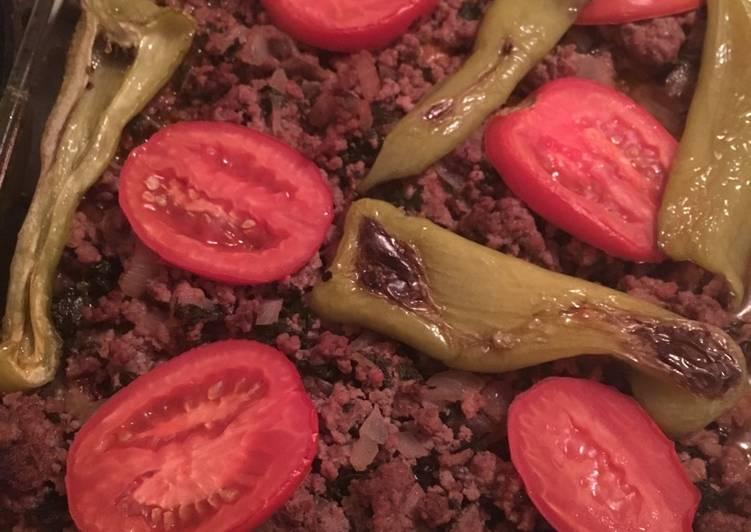 Eggplant musakka (Moussaka)