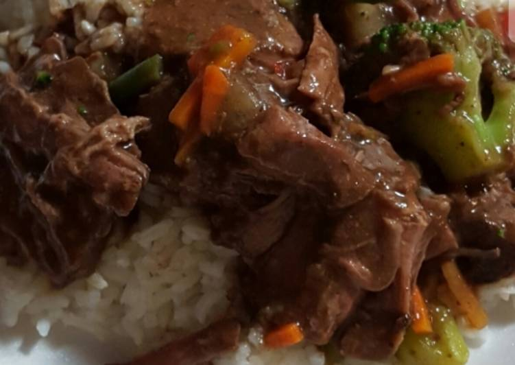 Sharon's slow cooker chuck roast
