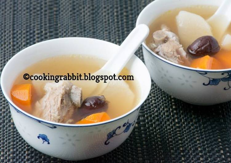 , Recipe: Delicious Chinese special soup