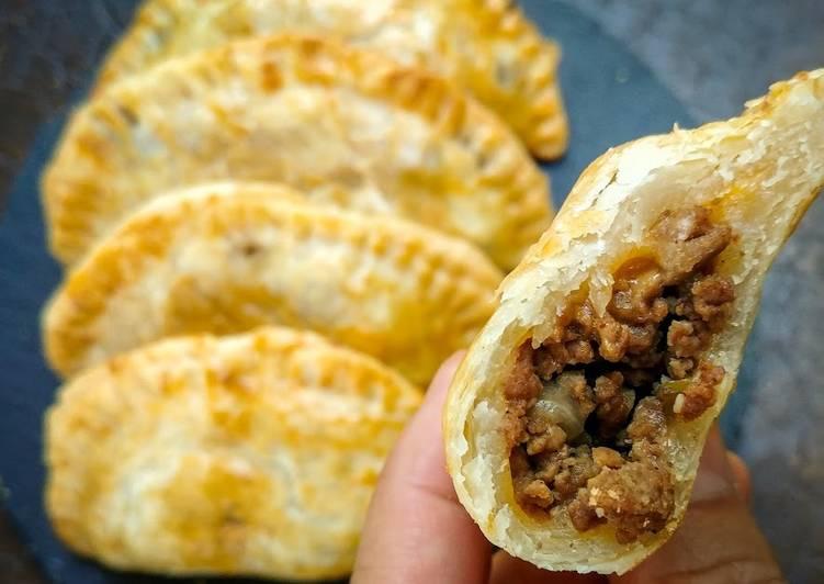 Pie Crust Beef Empanadas