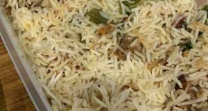 One Pot Rice Cooker Chicken Biryani