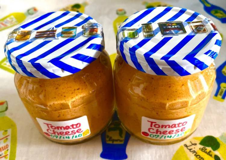 Tomato Basil Sauce with Mascarpone &Parmesan Cheese
