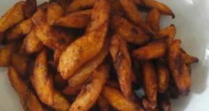 Spicy Fried Plantain (kelewele)